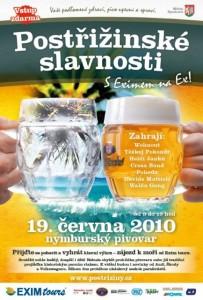 plakát postřižinských slavností 2010
